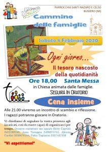 Locandina_Terzo incontro Gruppo Famiglie_ 8 Febbraio 2020