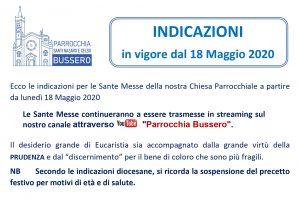 INDICAZIONI_18 Maggio 2020