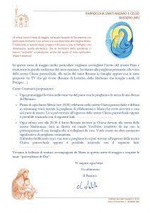 Lettera e INDICAZIONI Mese di Maggio 2020_page-0001