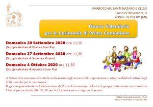 Nuove date Prima Comunione 2020_page-0001