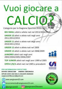 Sport_calcio_iscr 2020