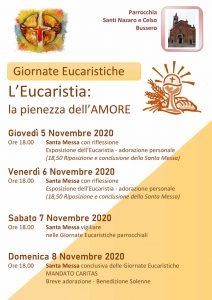 Locandina Giornate eucaristiche_novembre 2020-1