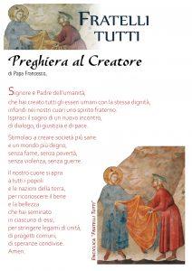 Locandina_Preghiera al Creatore_Fratelli tutti-1