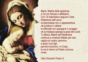 Preghiera a Maria_San Giovanni Paolo II